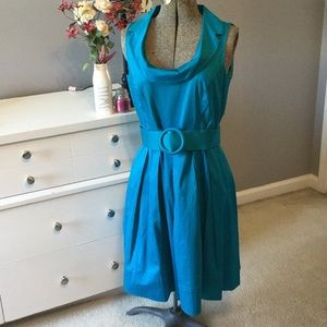 Sweet turquoise dress for all your Spring events!